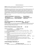 Professional National Account Manager Resume