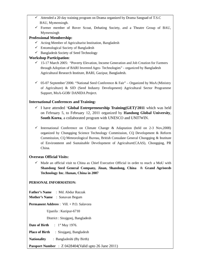 professional national sales manager resume template