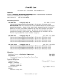 Professional Process Engineer Resume