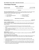Professional Sales Manager Resume