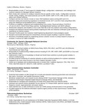 2 telecommunications technician resume templates and resume