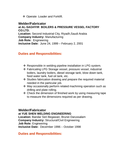 welder fabricator resume templates and resume samples free download