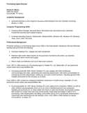 Simple Purchasing Agent Resume