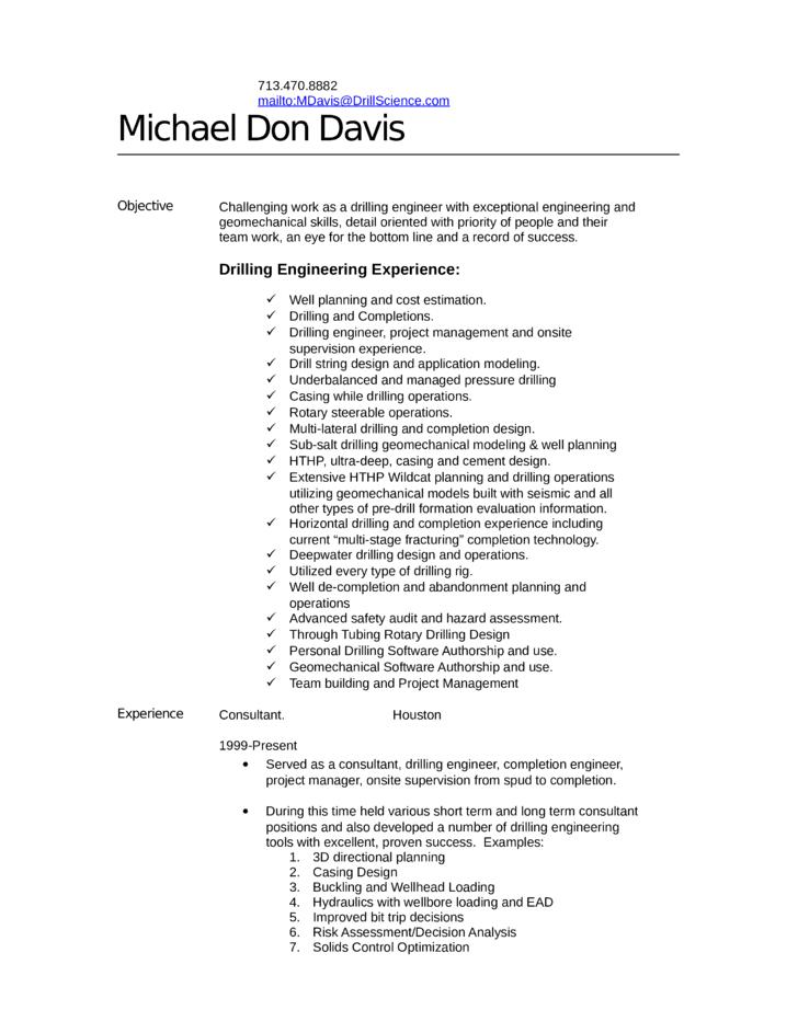 tabular engineer resume template