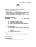 Tabular Sales Associate Resume